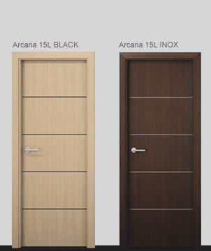 Arcana 15 L Black - Inox